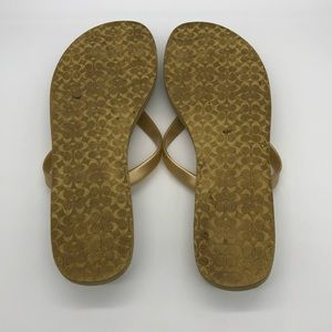 Coach Shoes - COACH Cassie Flip Flops Sz 9B